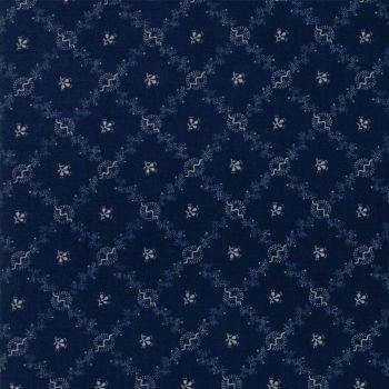 Moda Fabrics ~ Evelyn's Homestead 1880-1900 ~ Homestead Indigo