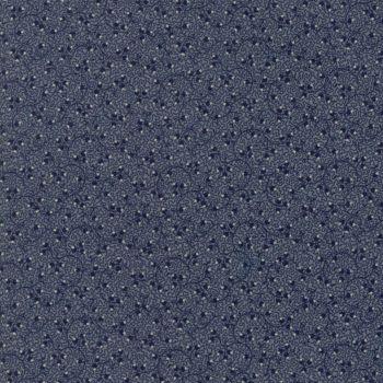 Moda Fabrics ~ Evelyn's Homestead 1880-1900 ~ Spreading Phlox Indigo