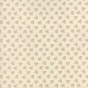 Moda Fabric ~ Jardin de Versailles ~ Rose in Pearl and Lavender