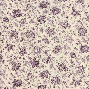 Moda Fabric ~ Jardin de Versailles ~ Le Prunier in Lavender