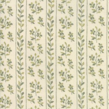 Moda Fabric ~ Jardin de Versailles ~ Pelouse in Castle Grey