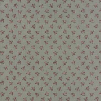Moda Fabric ~ Jardin de Versailles ~ Rose in Castle Grey