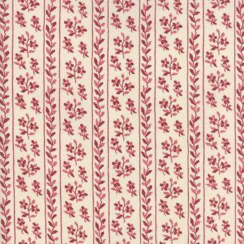 Moda Fabric ~ Jardin de Versailles ~ Pelouse in Rouge