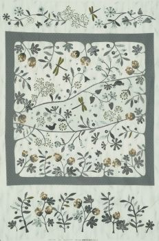 Lecien ~ Centenary Collection 2018 ~ Nature Panel Grey