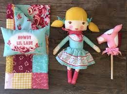 Moda Fabric ~ Howdy ~ Little Lady Panel