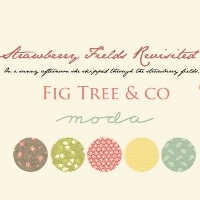 Moda Fabric ~ Strawberry Fields Revisited