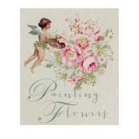 Tilda ~ Painting Flowers