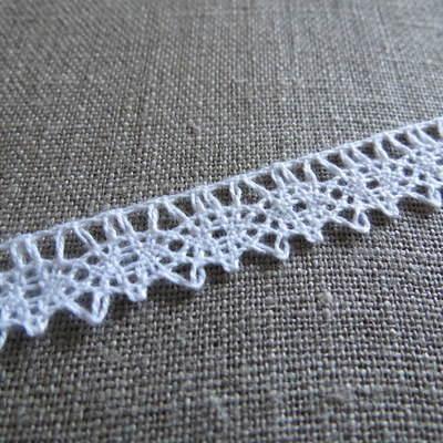White Cotton Lace ~ 12mm