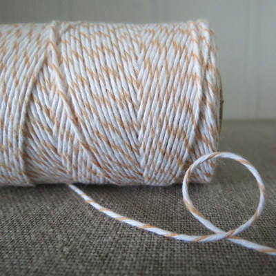 Peach 'Divine' Bakers Twine
