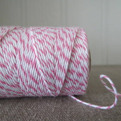 Raspberry 'Divine' Bakers Twine