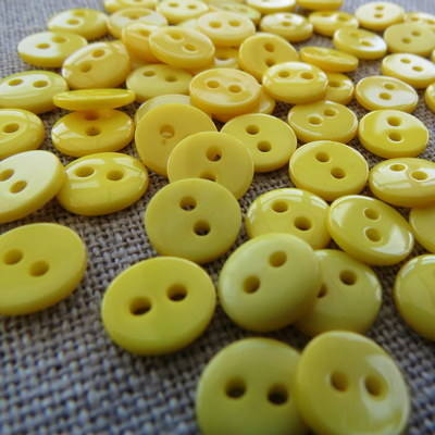 Small Yellow Buttons