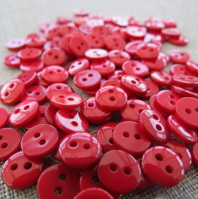 Small Red Buttons