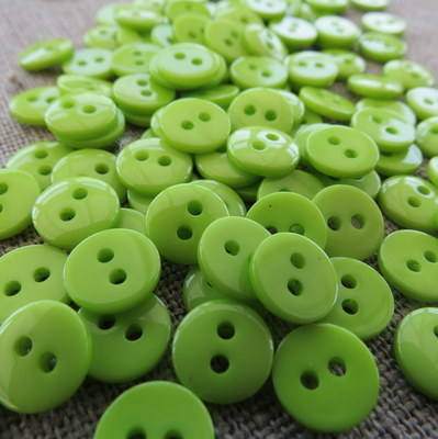 Small Green Buttons
