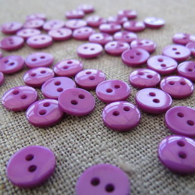 Small Purple Buttons