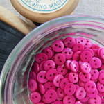 Small Buttons ~ Fuchsia