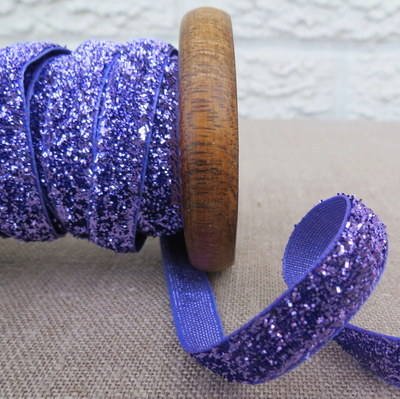 May Arts Ribbon ~ Metalic Velvet ~ Purple