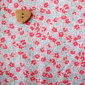 Sevenberry Fabric ~ Ditsy in Pink and Ice Blue