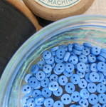 Teeny Buttons ~ Blue
