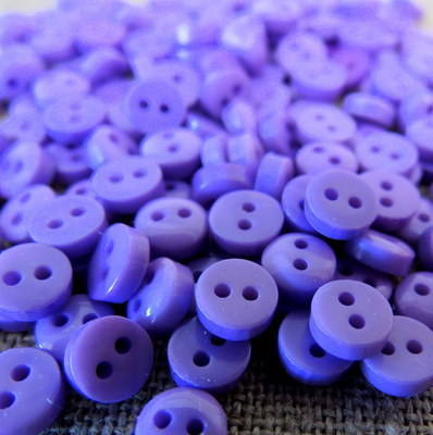 Teeny Buttons ~ Purple