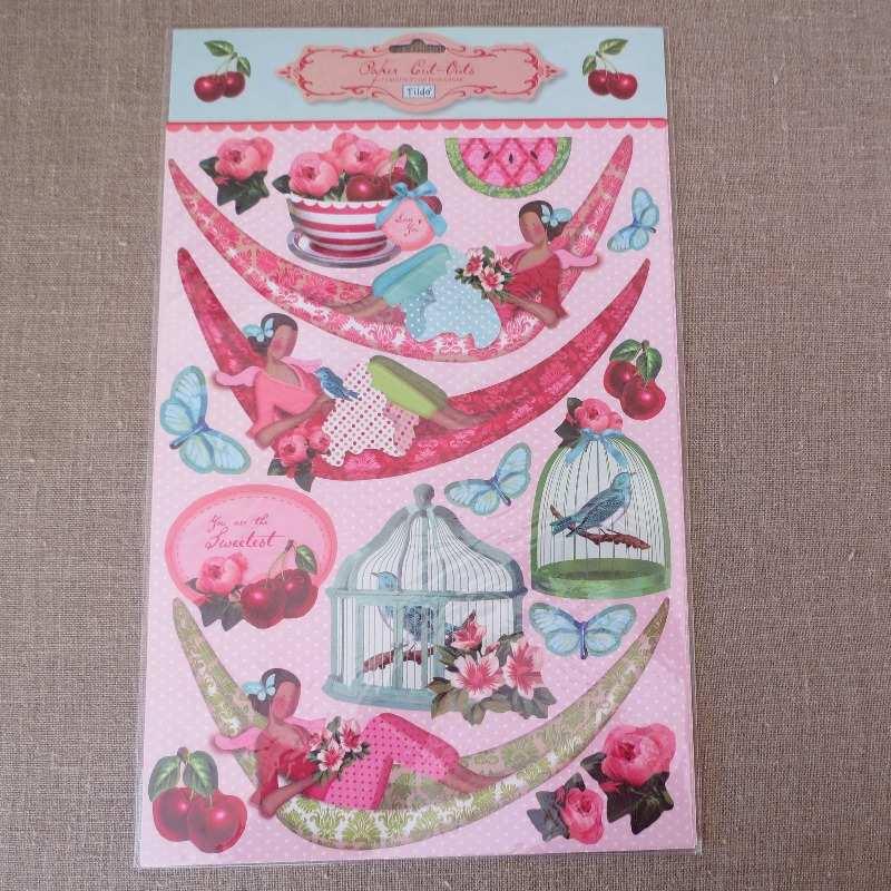 tilda paper cut out sheets fruit garden img_5455