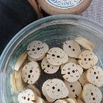 Ladybird Wooden Buttons