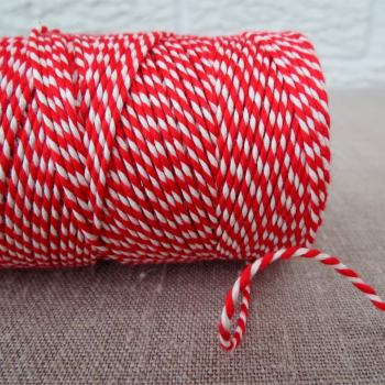 Beautiful Bakers Twine ~ Beefeater Red