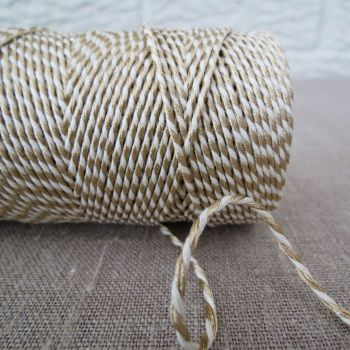 Beautiful Bakers Twine ~ Metallic Gold