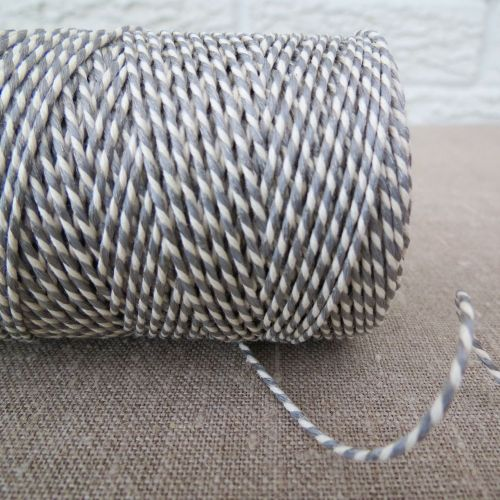 Beautiful Bakers Twine ~ Metallic Silver