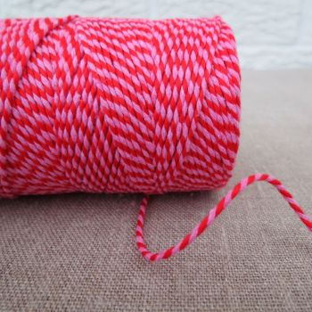 Beautiful Bakers Twine ~ Red and Pink