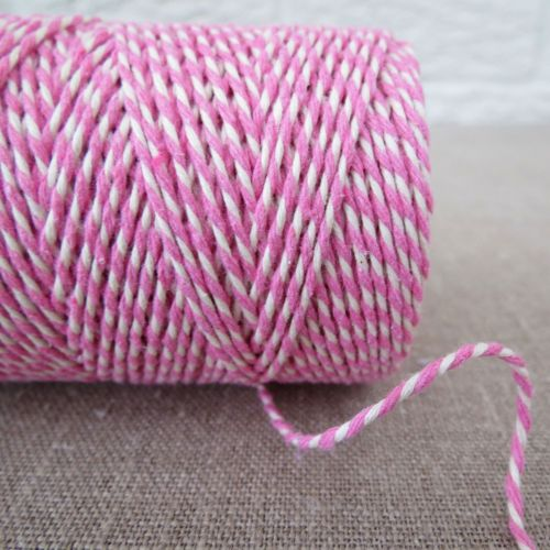 Beautiful Bakers Twine ~ Rose Pink
