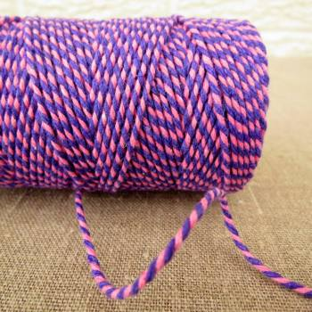 Beautiful Bakers Twine ~ Violet and Pink