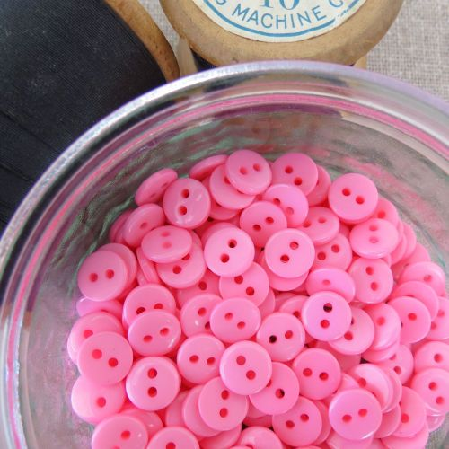 Small Pink Buttons