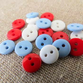 Small Buttons ~ Nautical Mix