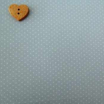 Sevenberry Fabric ~ Pin Dot in Ice Blue