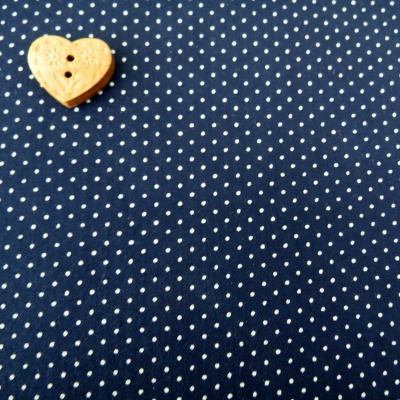 Sevenberry Fabric ~ Pin Dot in Navy