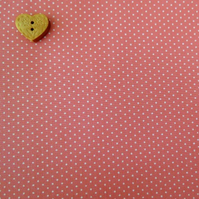 Sevenberry Fabric ~ Pin Dot in Pink