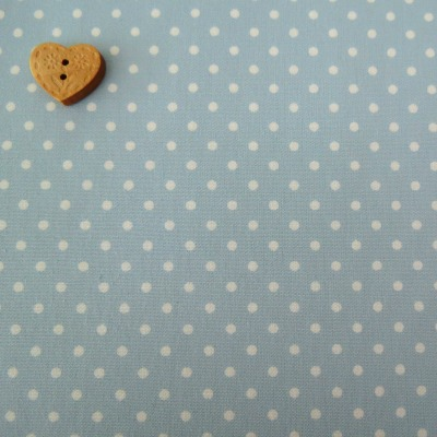 Sevenberry Fabric ~ Polka Dot in Ice Blue