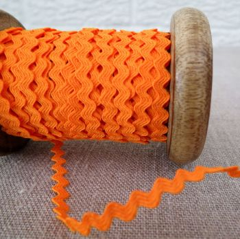 May Arts ~ Mini Ric Rac ~ Orange