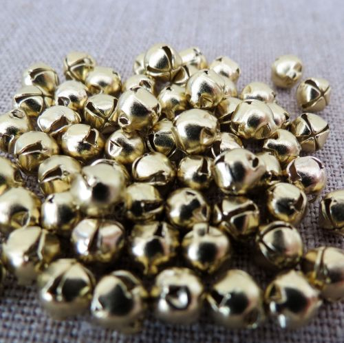 Gold Bells ~ 6mm