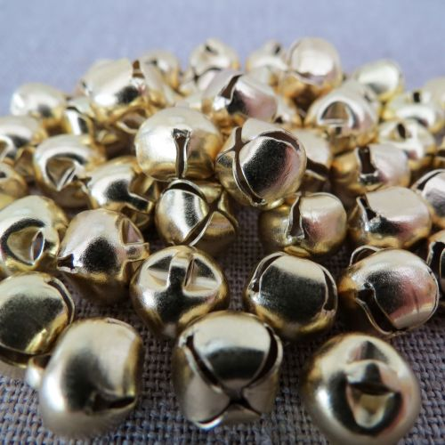 Gold Bells ~10mm