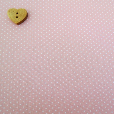 Sevenberry Fabric ~ Pin Dot in Pale Pink