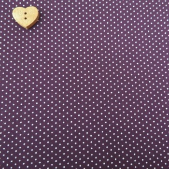 Sevenberry Fabric ~ Pin Dot in Amethyst