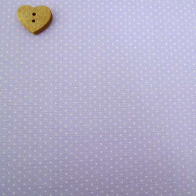 Sevenberry Fabric ~ Pin Dot in Lilac