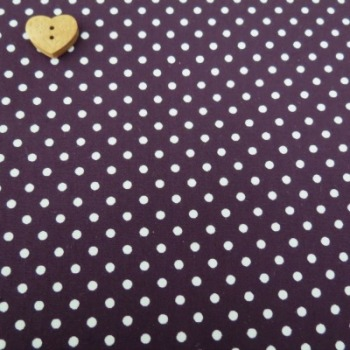 Sevenberry Fabric ~ Polka Dot in Amethyst