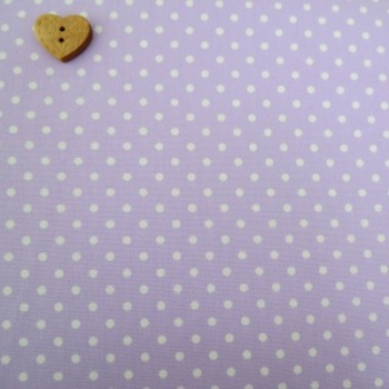Sevenberry Fabric ~ Polka Dot in Lilac