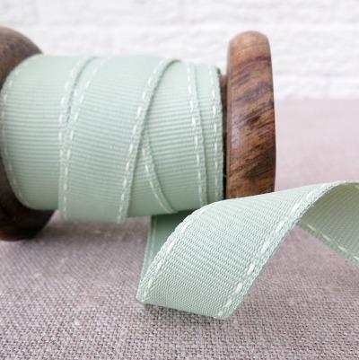 Ebony and Ivory Ribbon ~ Cricket