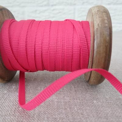 Ebony and Ivory Ribbon ~ Spaghetti Pink