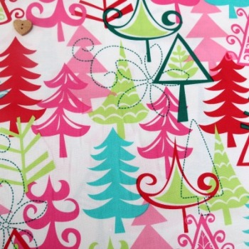 Michael Miller Fabric ~ Yule Trees