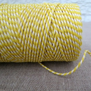 Beautiful Bakers Twine ~ Daffodil
