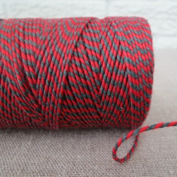 Beautiful Bakers Twine ~ Red and Green